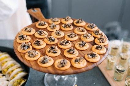 Mushroom Caviar Crisp